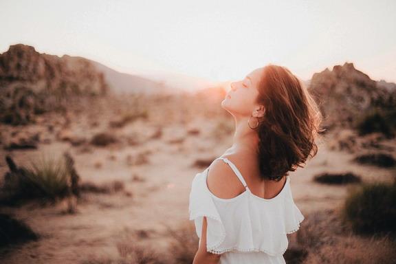 Woman Sun A