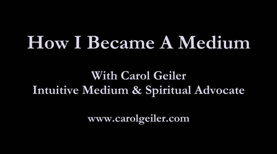 How I Became A Medium! (VIDEO)