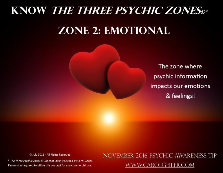 Psychic Zone 2 – The Emotional Zone
