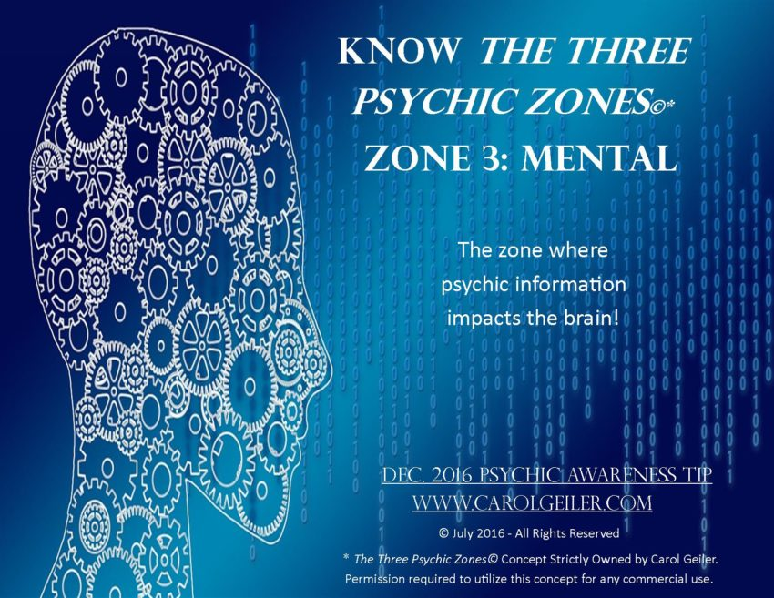 Psychic Zone 3 – The Mental Zone